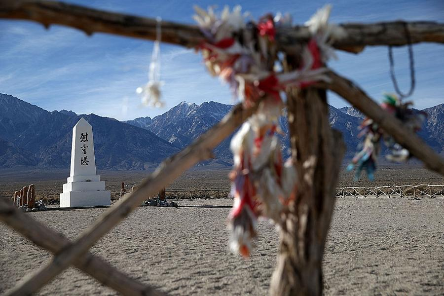 Memorial At Japanese Internment Camps
