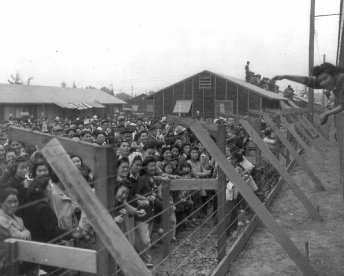 New Arrivals To Japanese Internment Camps