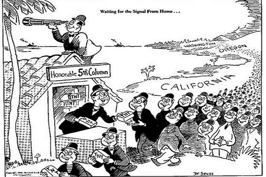 Dr. Seuss Anti-Japanese Cartoon
