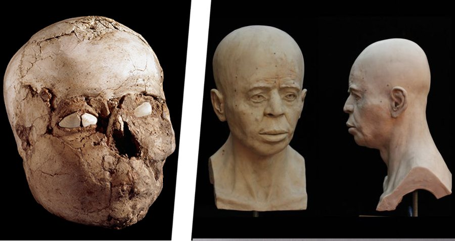 Jericho Face Skull