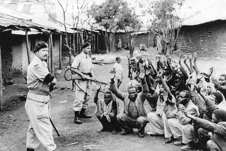 Kikuyu Genocide Under Guard