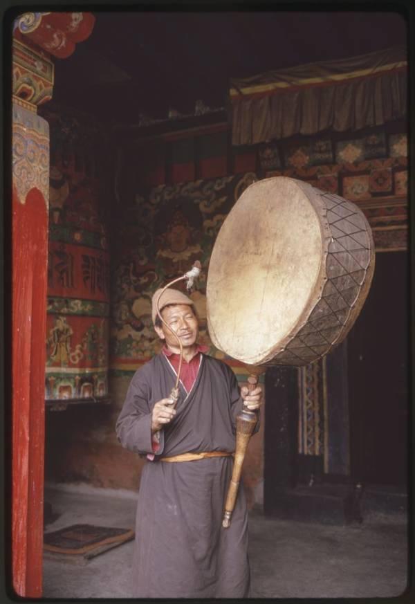 Large Drum Monk Monastery