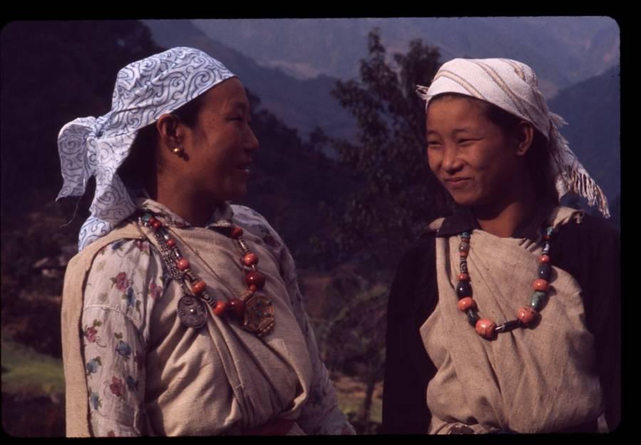 Lepcha Women In Sikkim