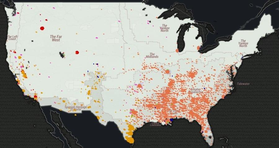 Lynching Map
