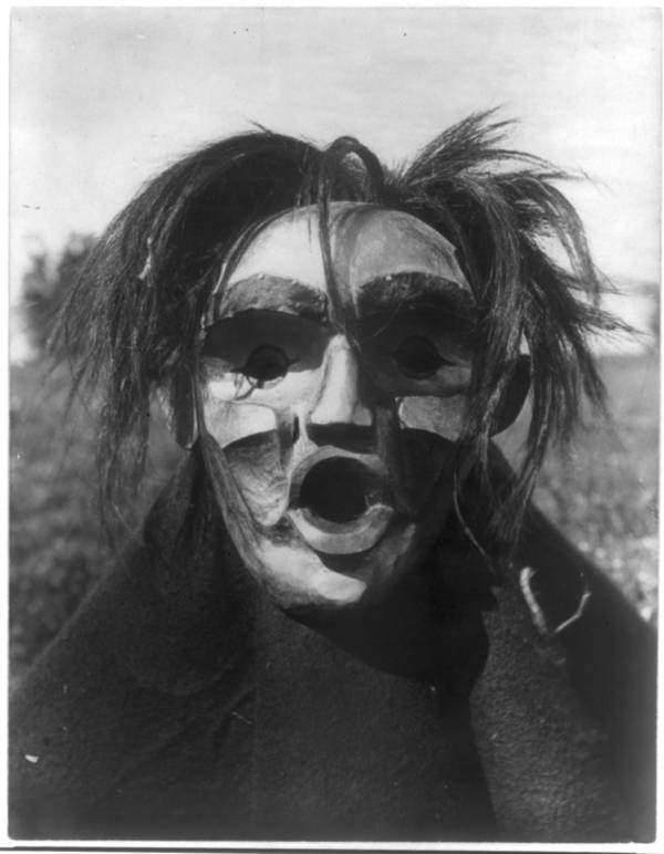 Mask With Mouth Open