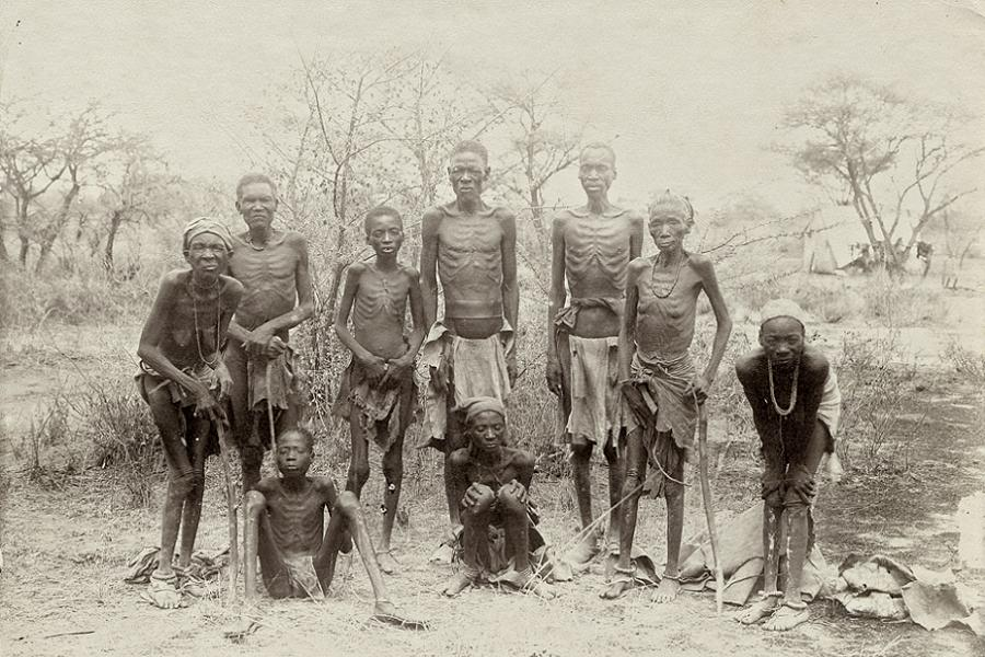 Survivors of the Herero Genocide