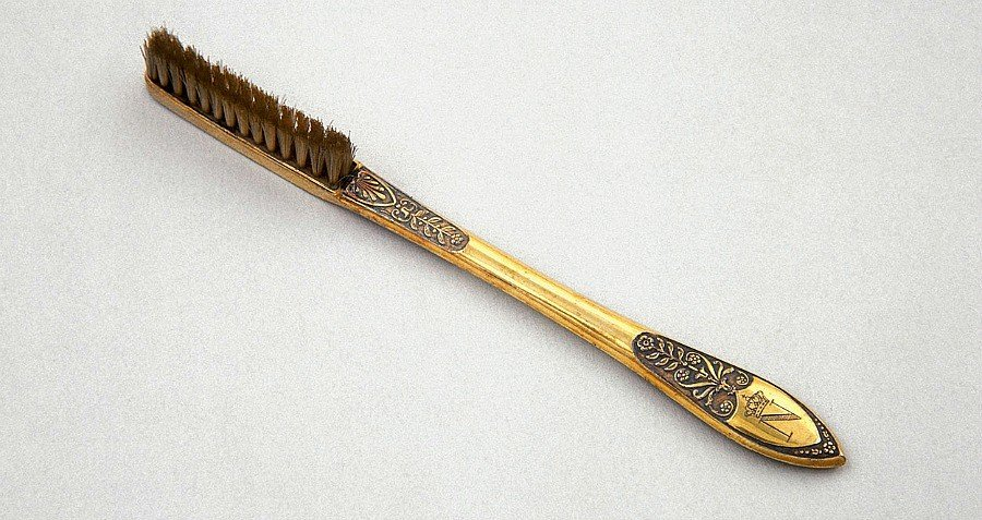 Napoleon Toothbrush Gold Handle