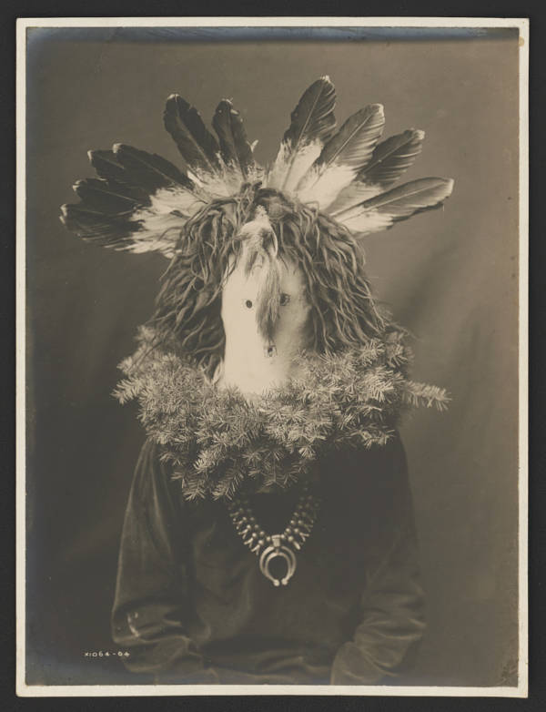 Native American Masks Feathers