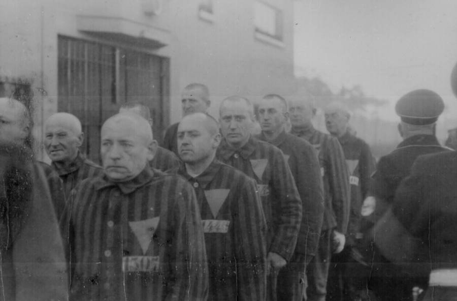 Prisoners Wearing Stripes And Stars