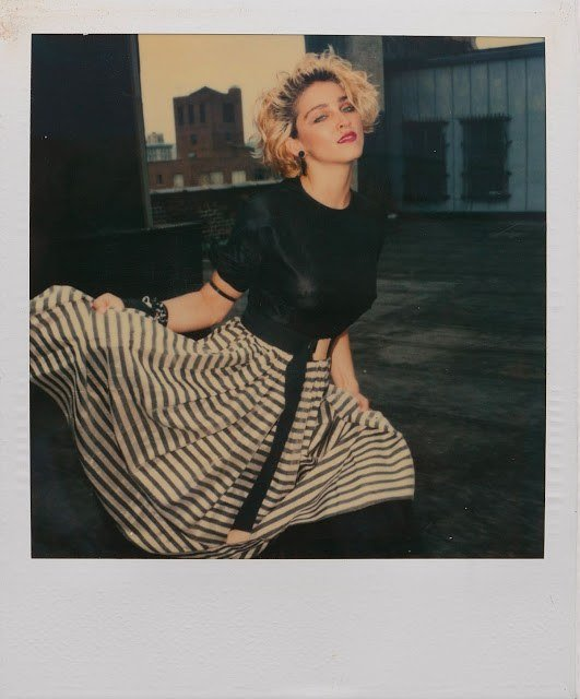 Richard Corman Madonna Polaroids 1
