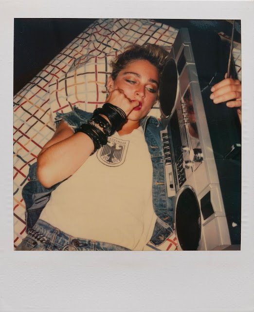 Richard Corman Madonna Polaroids 3