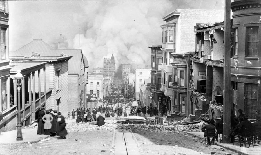 San Francisco Earthquake Street