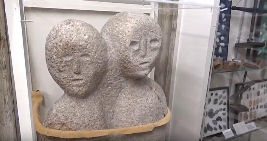 Sculpture Moon Eyed People Legend