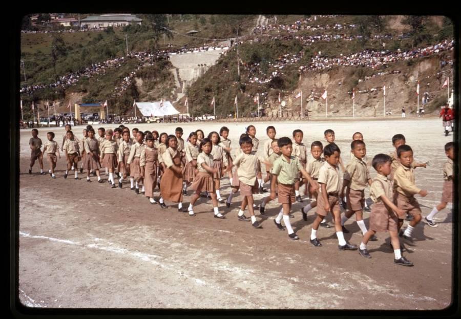Sikkim School Children