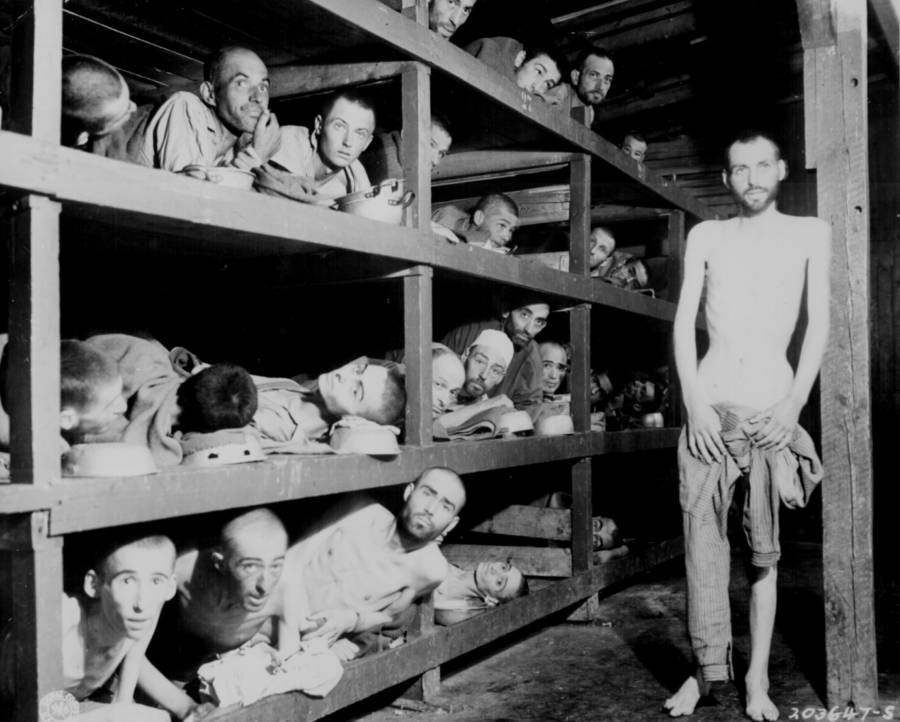 Starved Prisoner Men