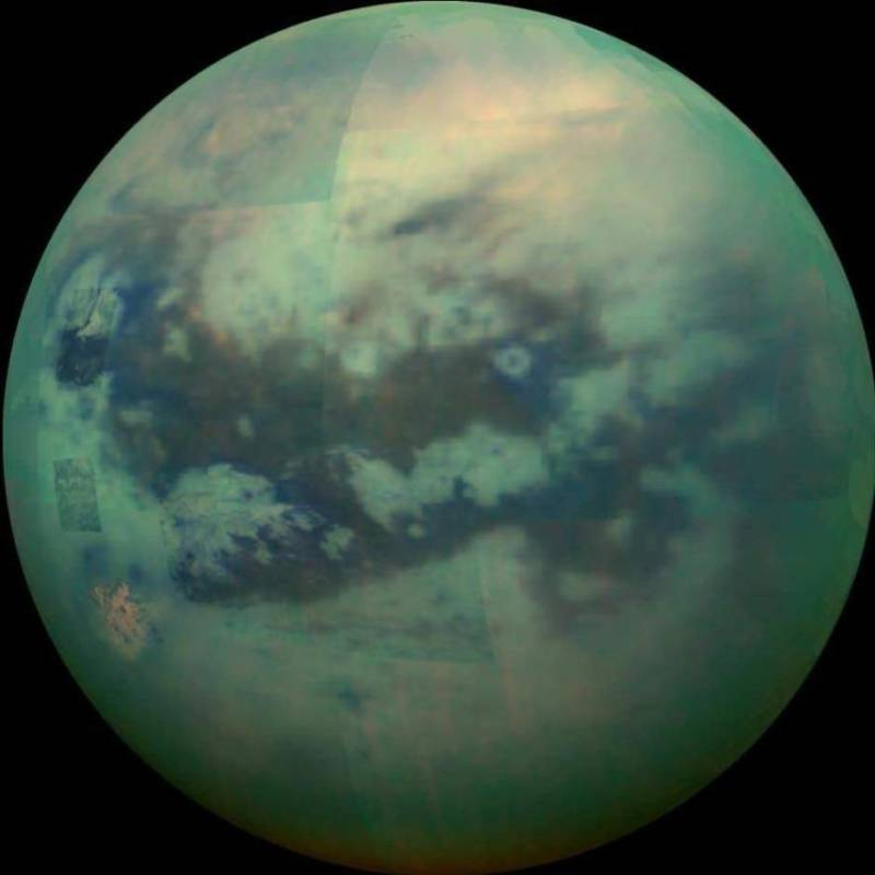 Titan Moon Of Saturn