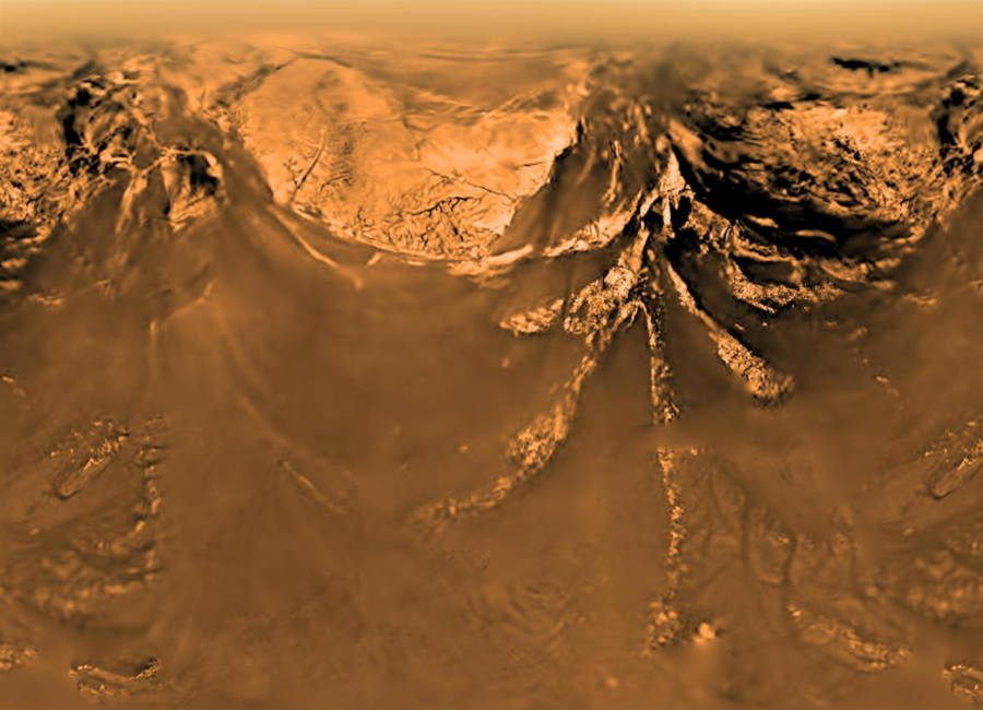 Titan Mountains