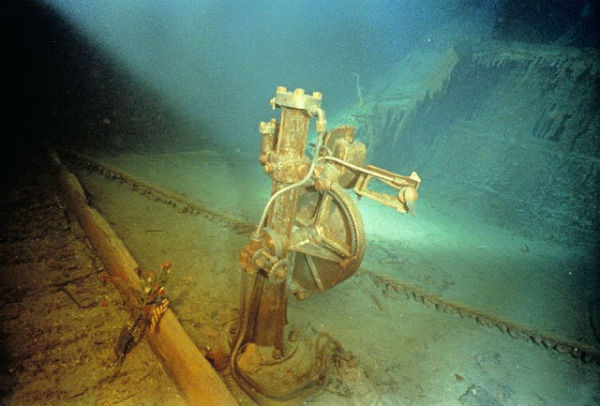 Titanic Wreck Picture
