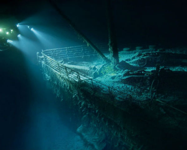 Titanic Wreck Photographic