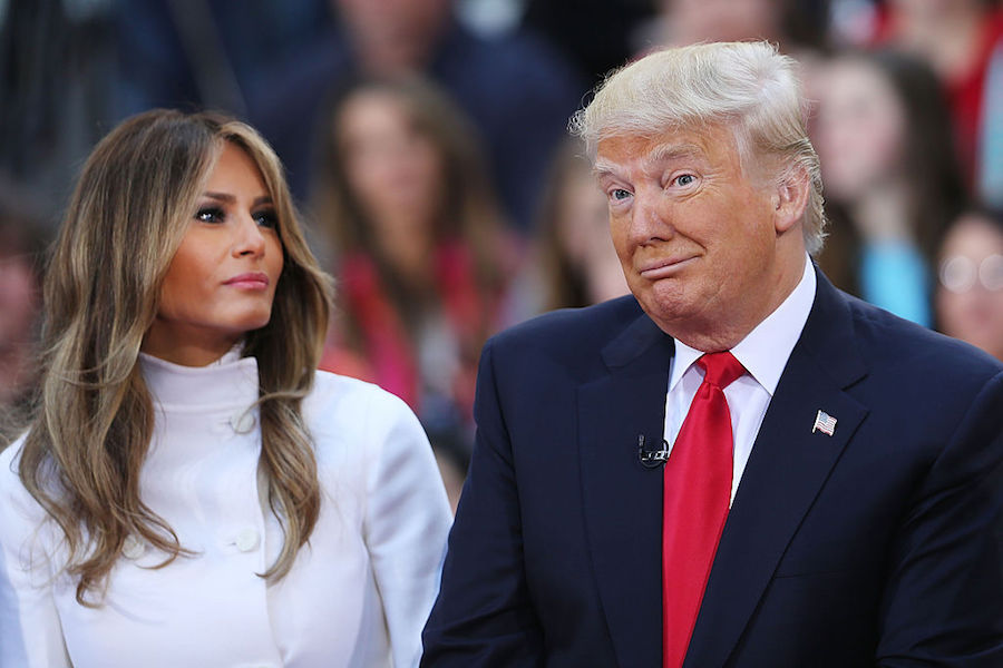 Trump Wife Big