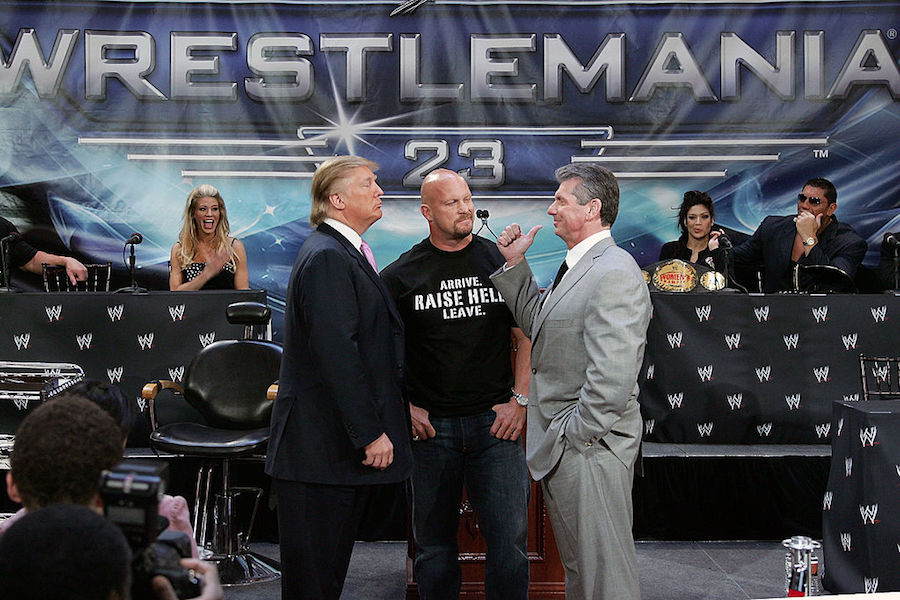 Trump Wrestlemania