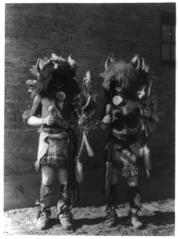 Two Men In Costume
