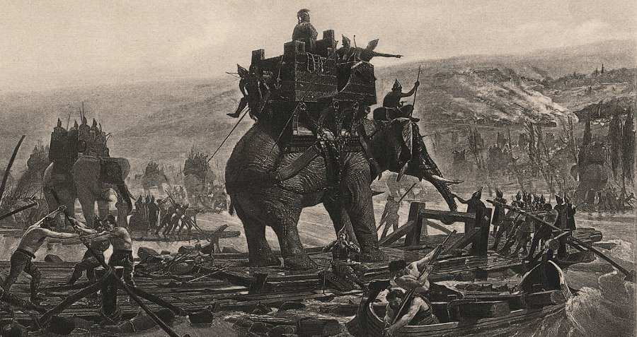 War Elephants Hannibal Execution