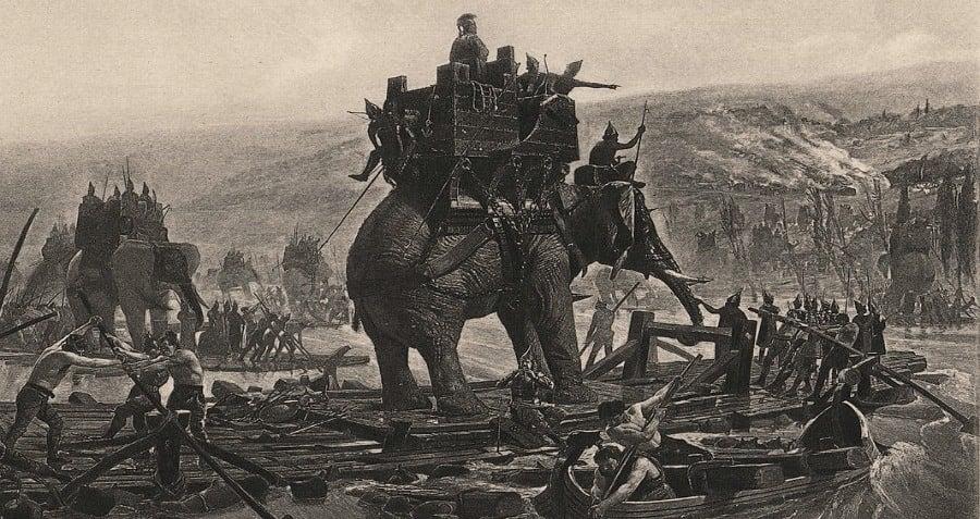 War Elephants Hannibal Execution