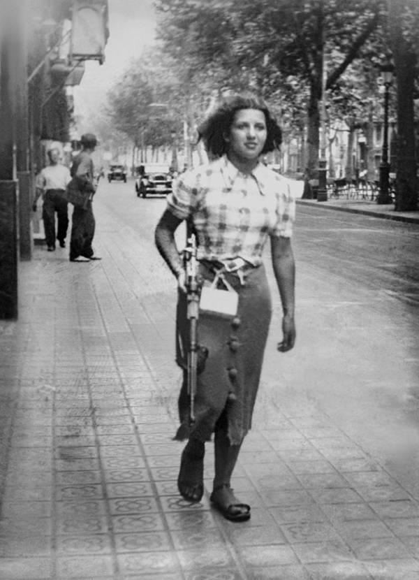 Woman Rifle