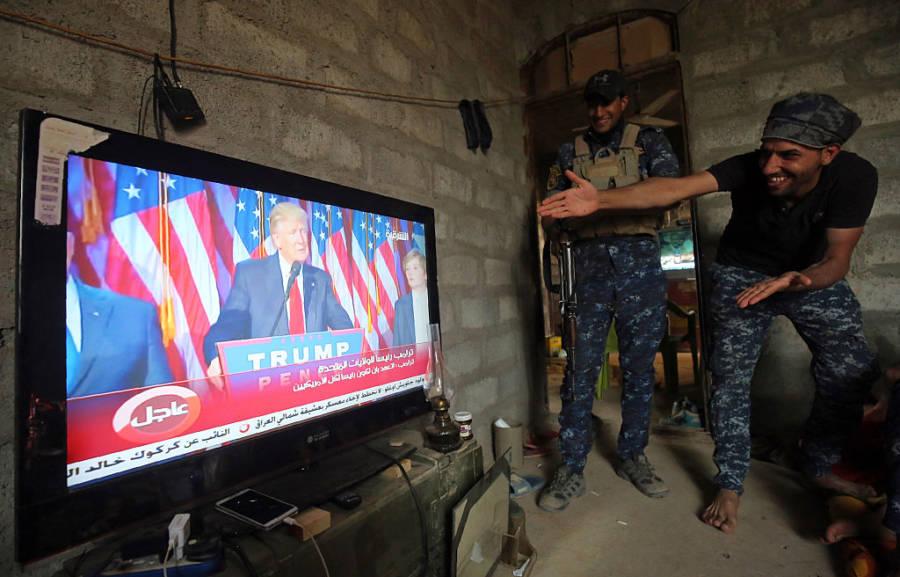 Trump Ban Iraq