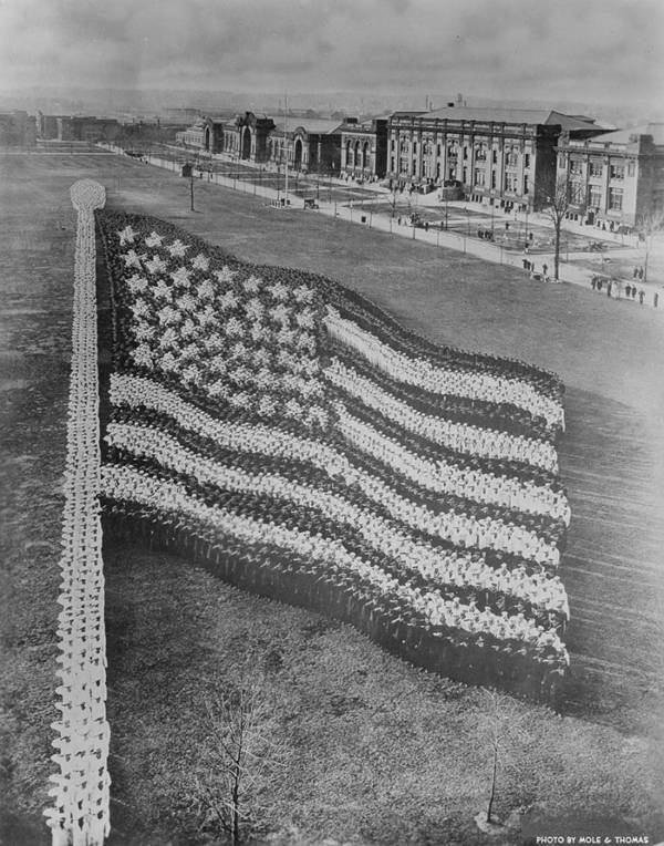 Living Photographs American Flag
