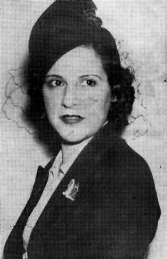 Billie Frechette Portrait
