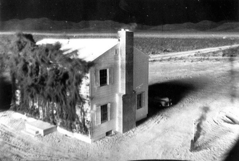 Blast House Front Breaking