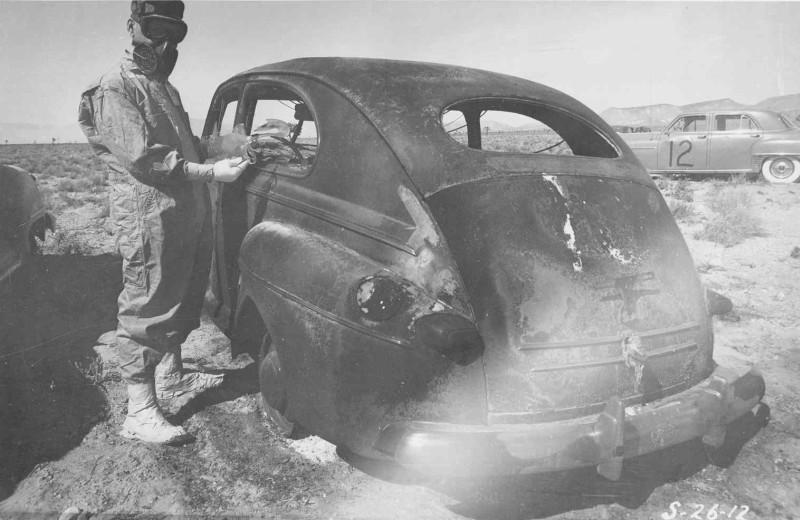 Car Destroyed Post Blast