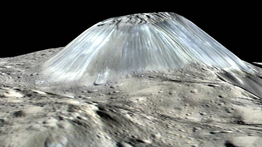 Dwarf Planet Ceres May Have Vanishing Ice Volcanoes, New ...