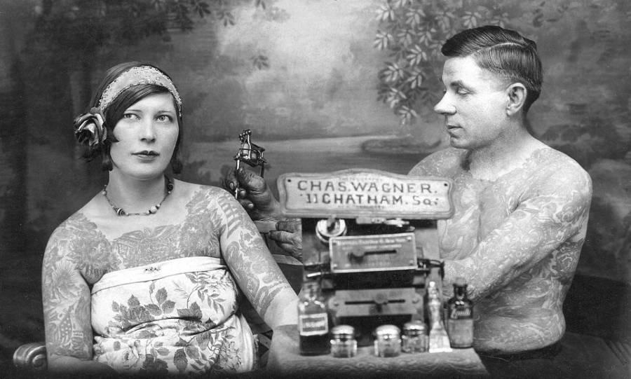 Charlie Wagner Vintage Tattoos