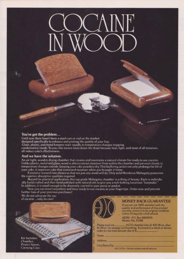 Cocaine Wood