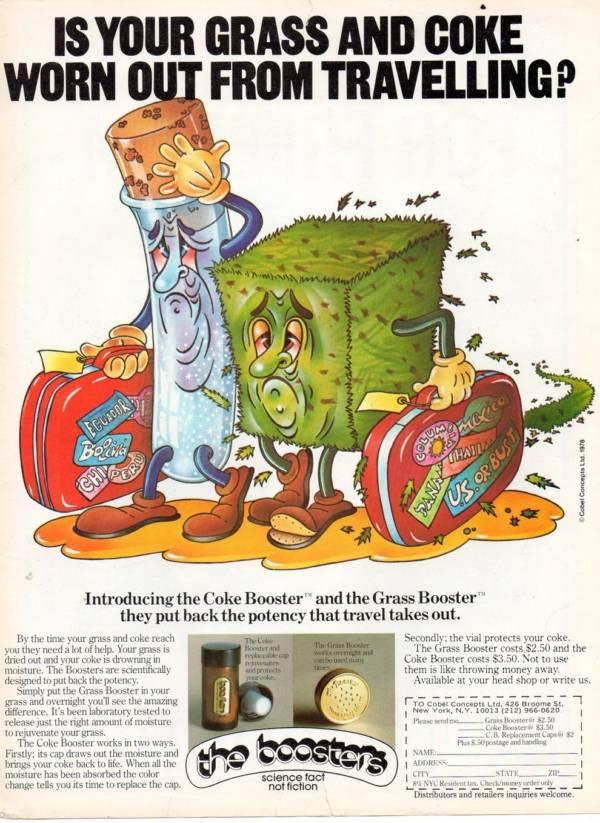 Coke Grass Booster