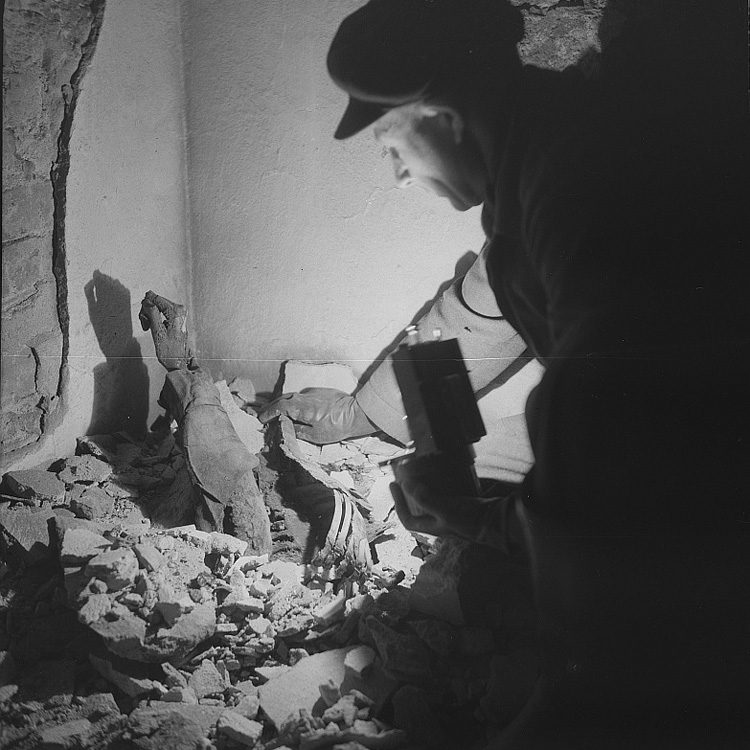 Corpse From Dresden Bombing