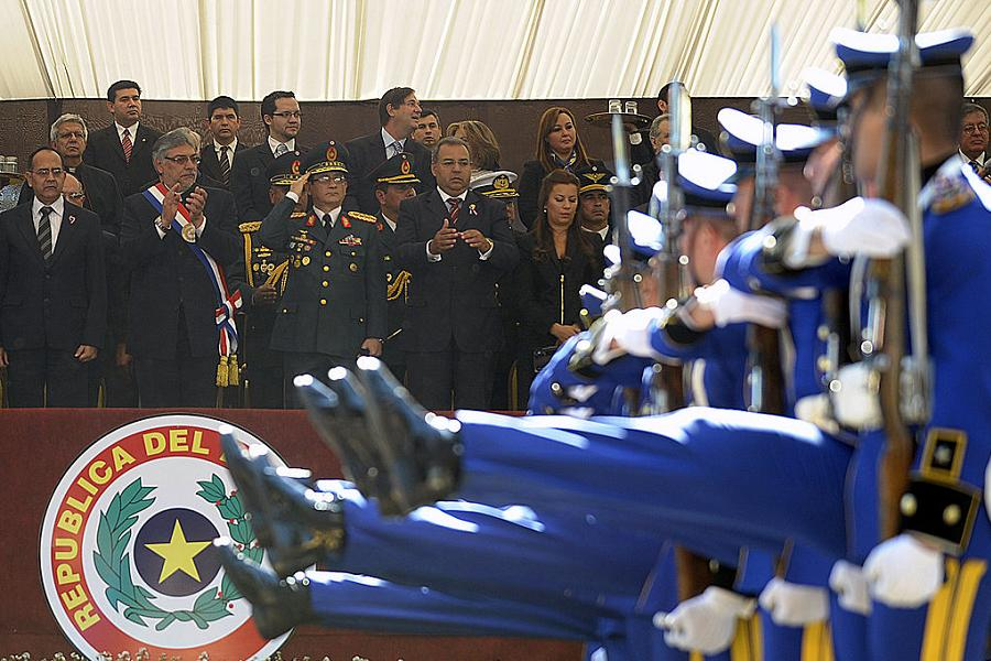 Paraguay Military Parade