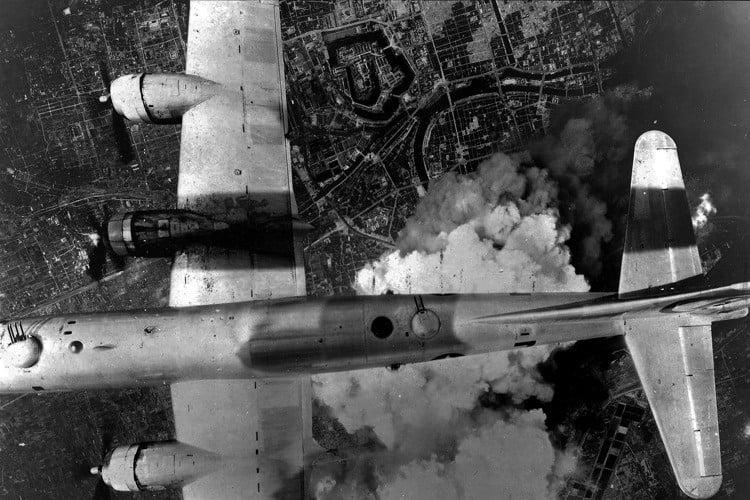 Dresden Bombing Plane