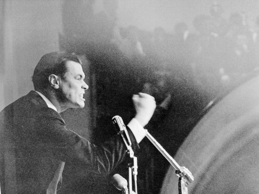 George Lincoln Rockwell Photograph