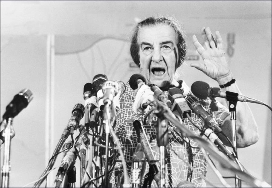 Golda Meir Microphones