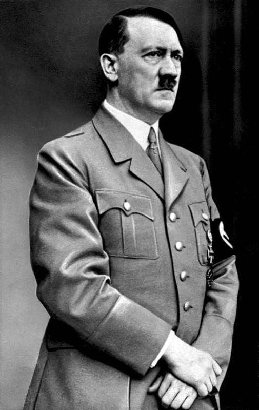 Hitler Hands Together