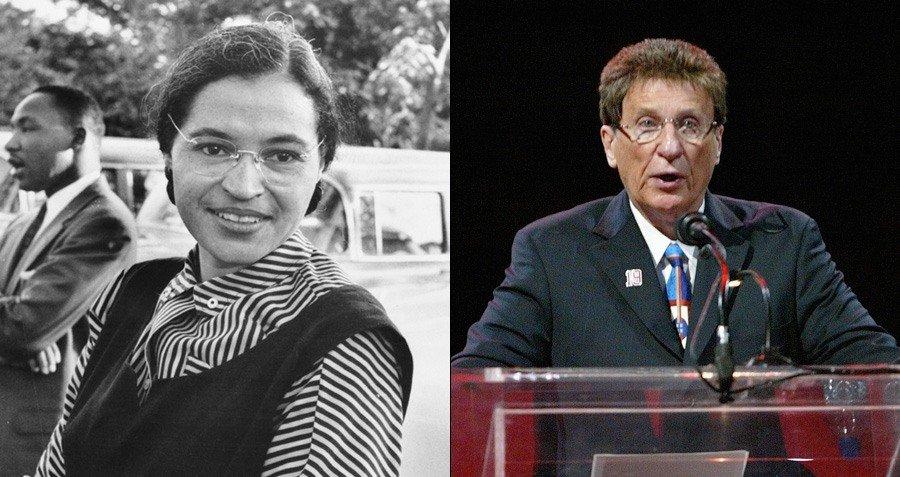 Michael Ilitch And Rosa Parks