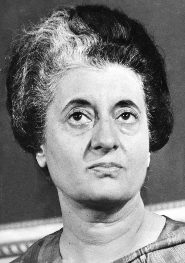 Indira Gandhi Portrait