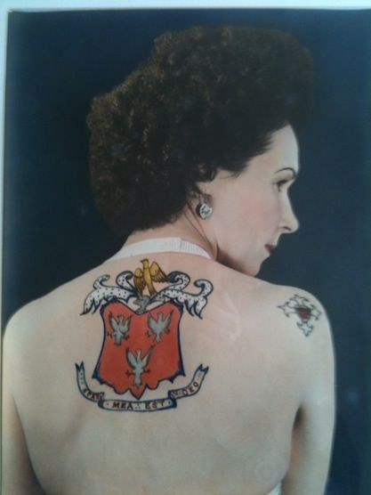 Jessie Knight Vintage Tattoos