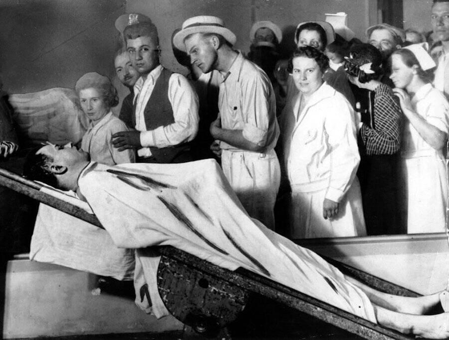 John Dillinger Body