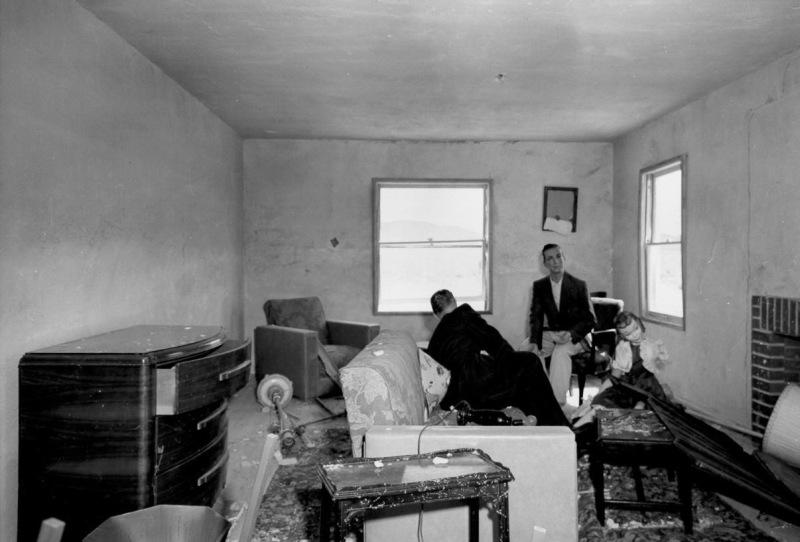 Mannequin Man Staring Living Room
