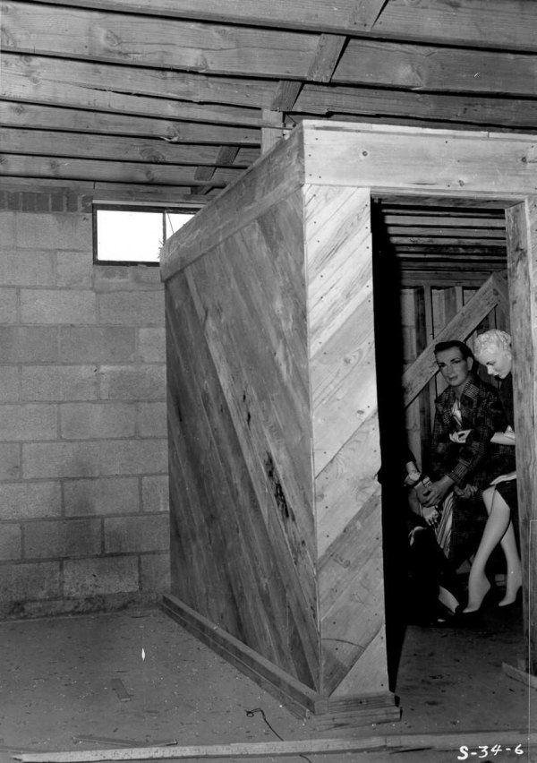 Mannequins In Basement Shelter